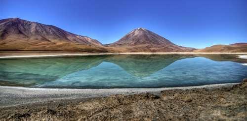 Laguna Verde Bolivia, Sud America